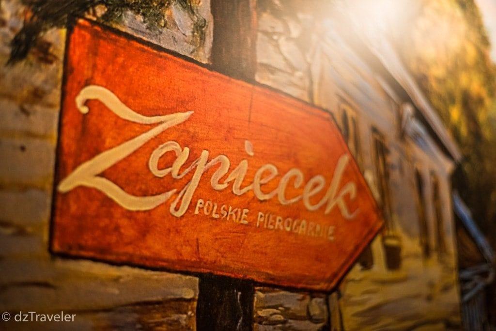 Zapiecek Restaurant in Warsaw