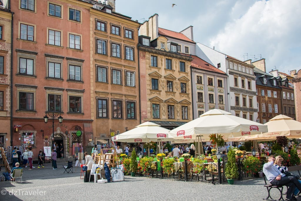 Town Square in Old Town Warsaw