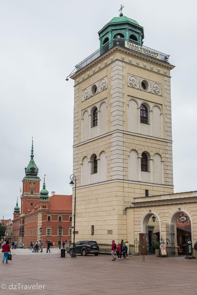 Dzwonnica. Taras Widokowy, Warsaw