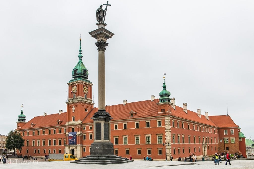 Royal Castle, Old Town Warsaw