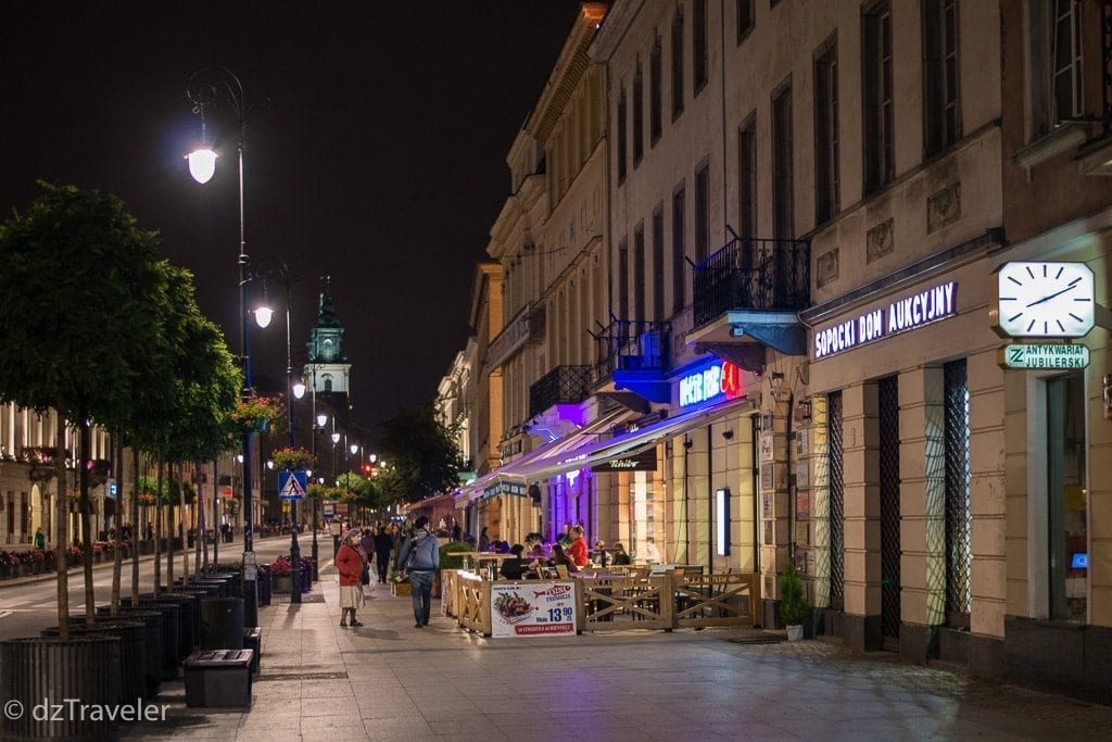 Krakowskie Przedmiescle, Warsaw