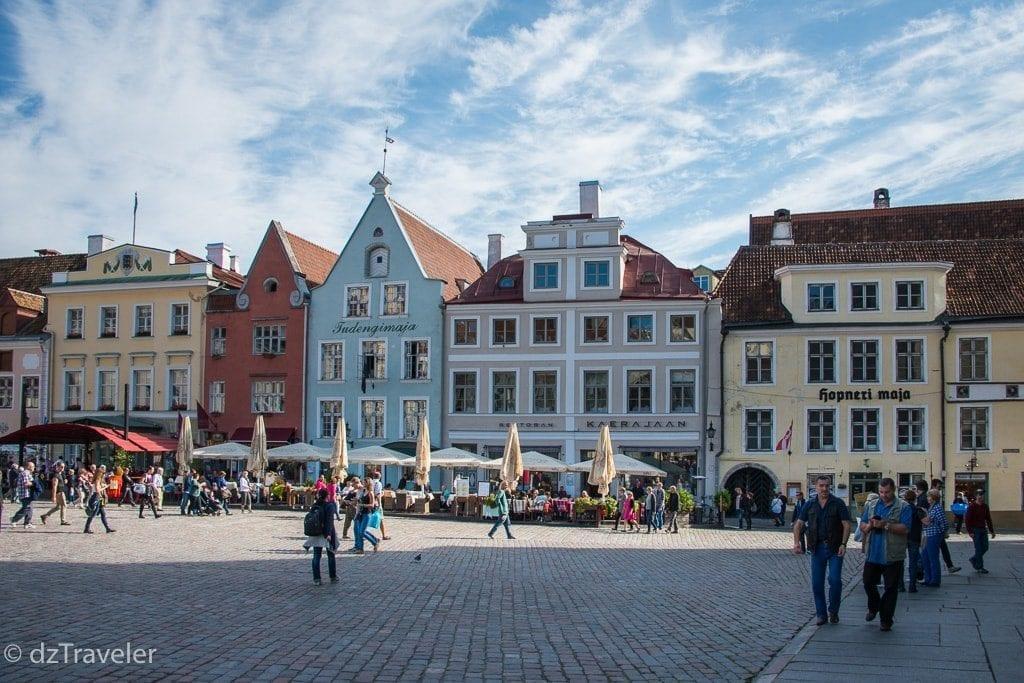 The Town Hall Square, Tallinn