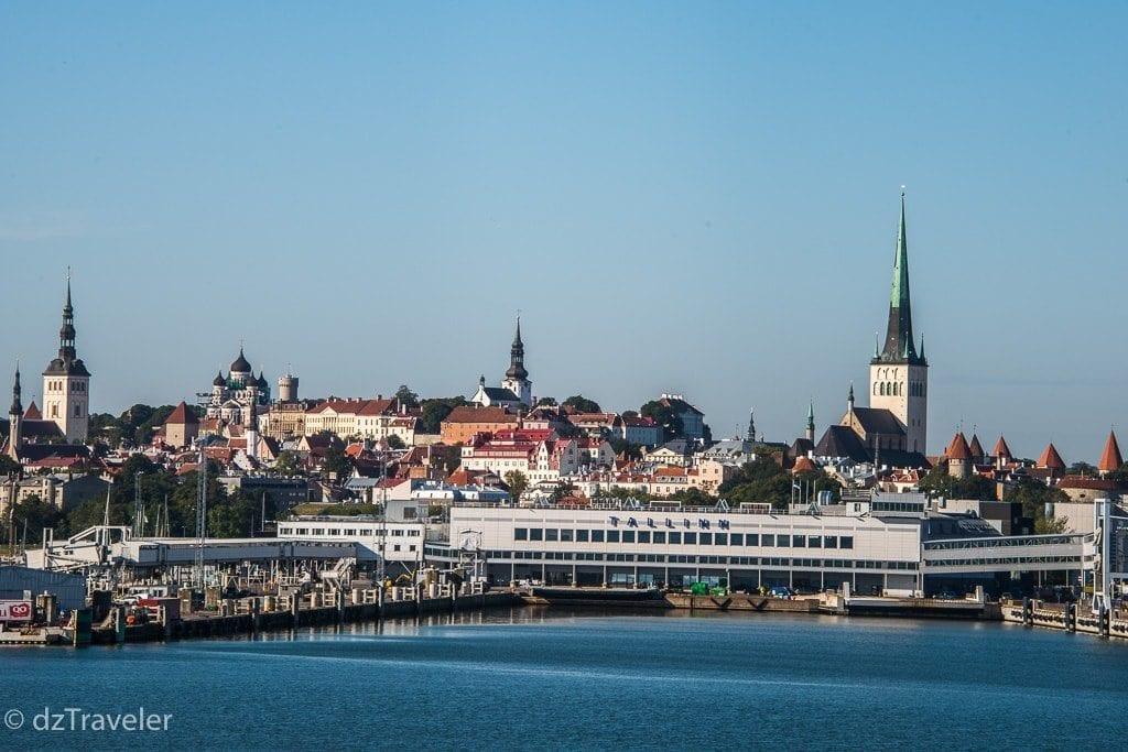 View of Tallinn in Summer