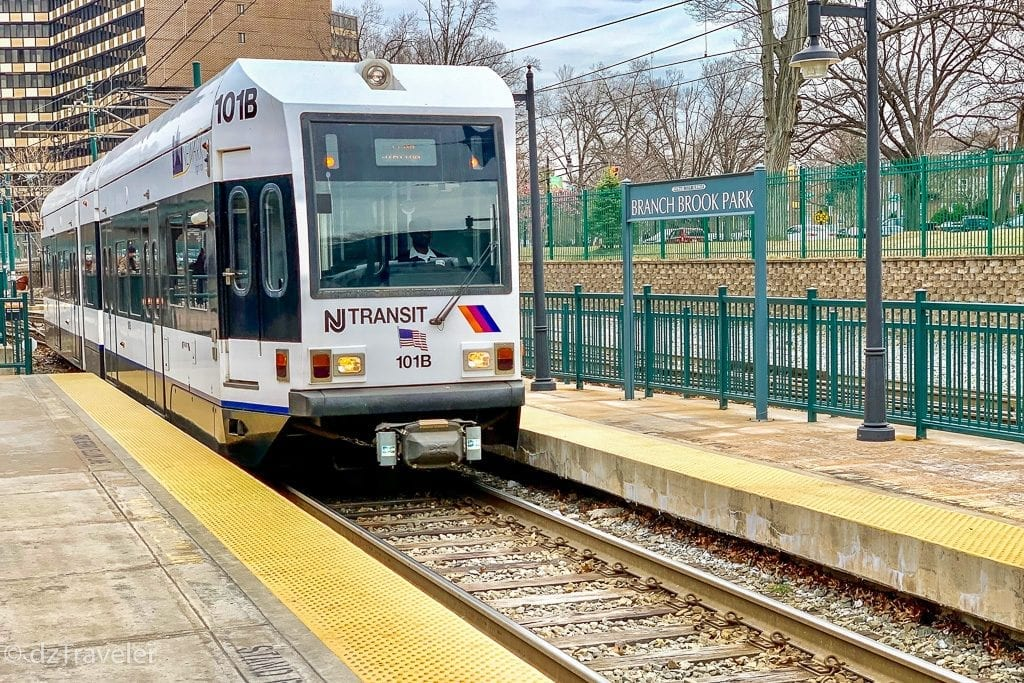 Light Rail that connects Newark Penn Station to Branch Brook Park