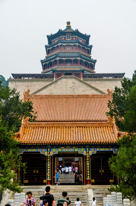 The Tower and the Second Palace gate.