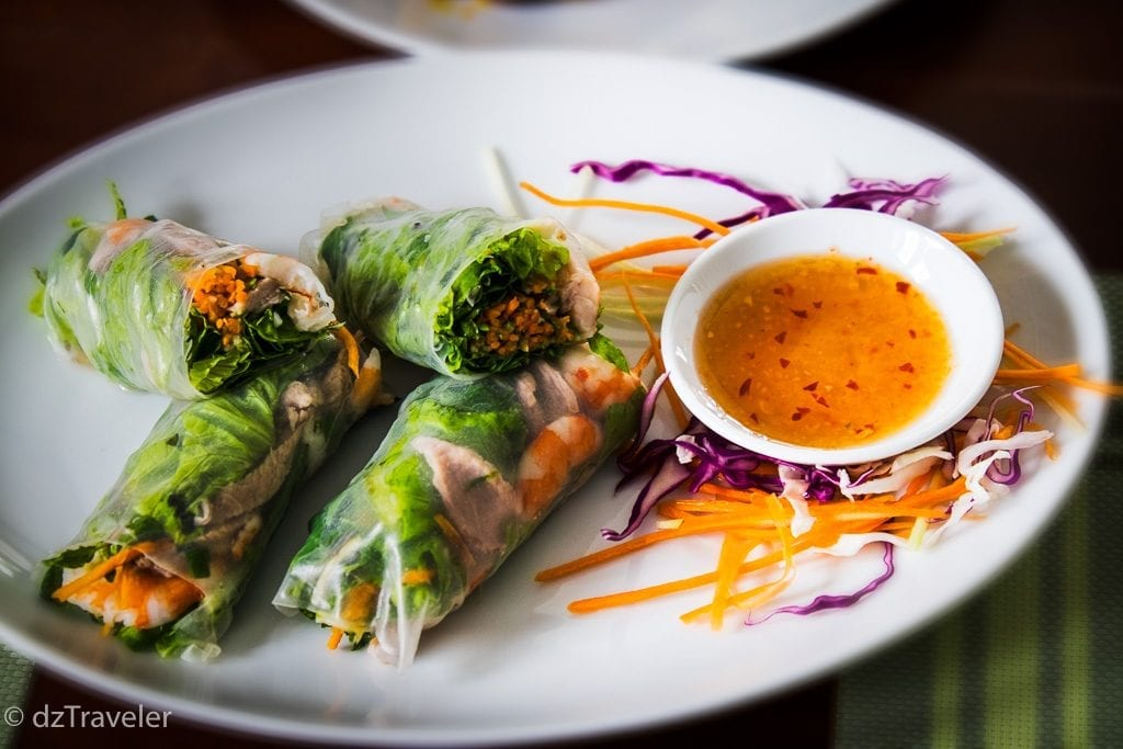 Spring roll looked so nice and delicious
