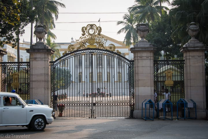 Marble Palace is a grand mansion in Kolkata