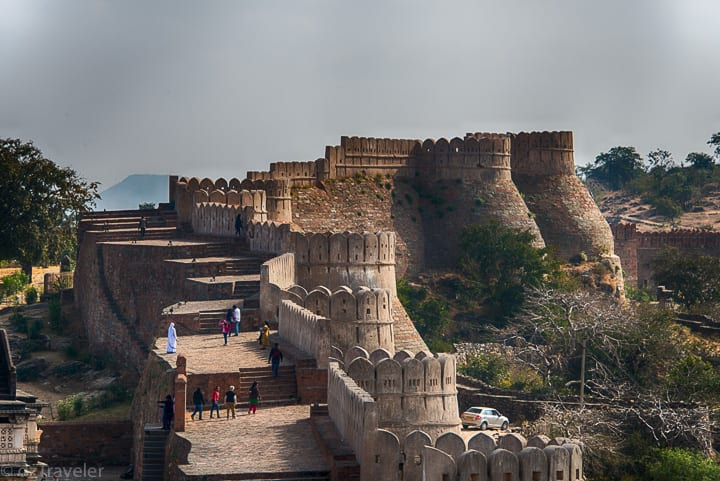Walls of The Kumbhalgarh Fort