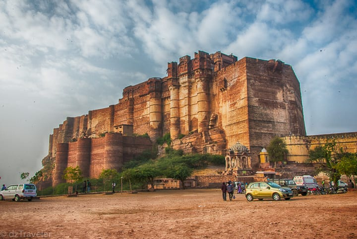A view of Mehrangarh
