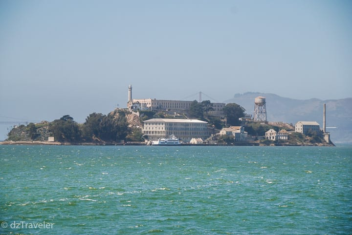 Alcatraz Island and one of the most famous prison, San Francisco