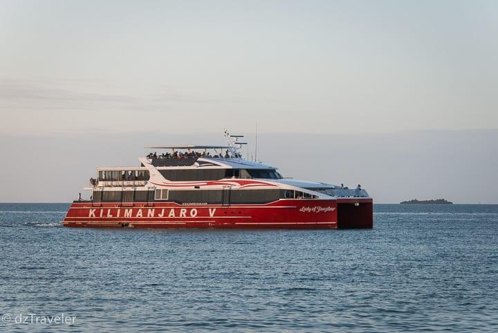Ferry from Dar Es Salaam to Zanzibar, Tanzania