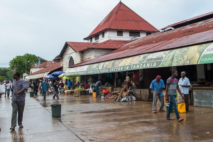 Darajani Central Market, Zanzibar