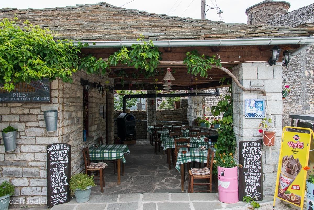 Tsoumanis Christoforos Restaurant, Vikos Gorge