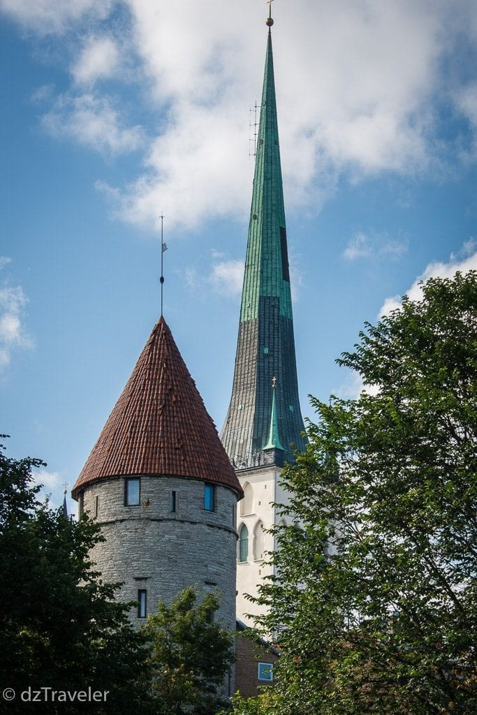 Church Towers in lower town