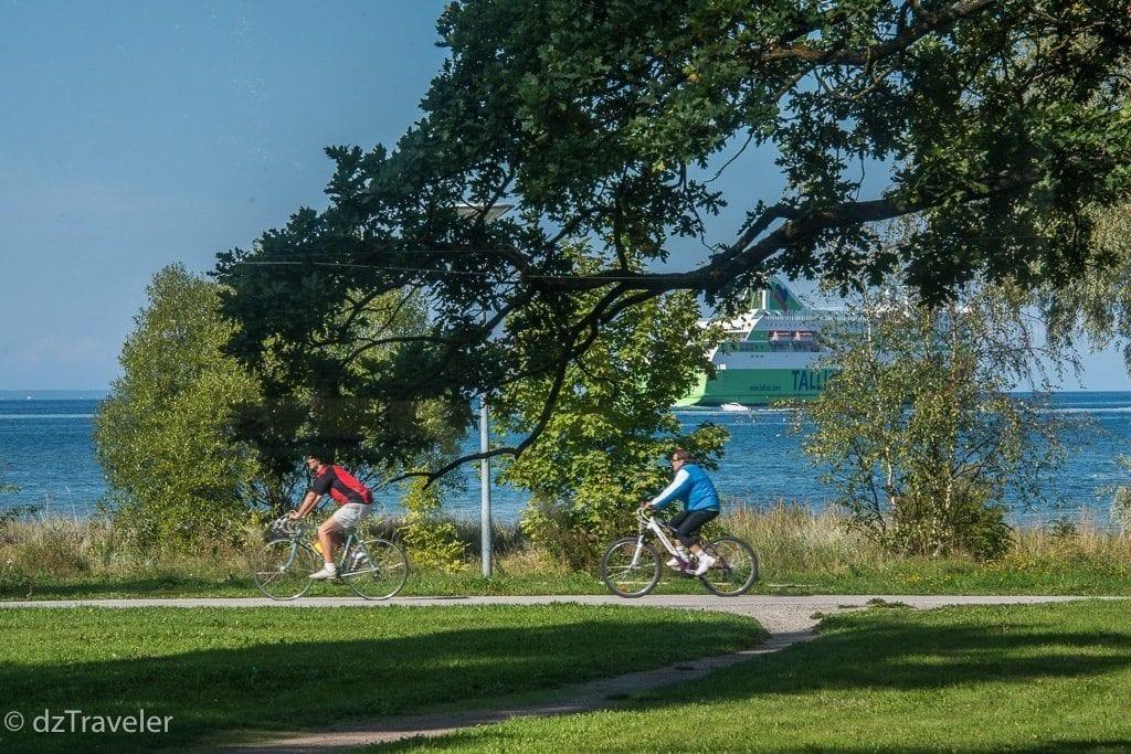 Bike ride along the Baltic Sea