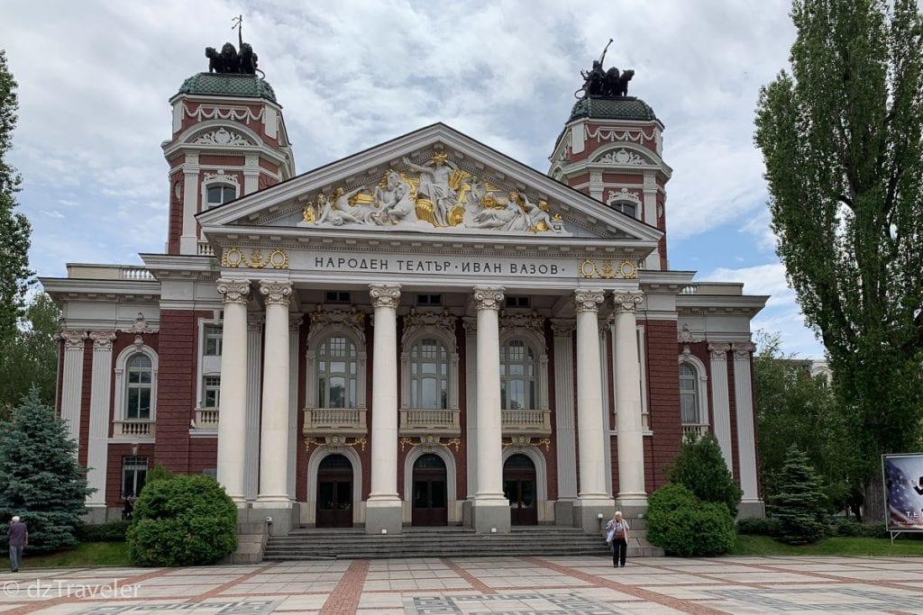 Ivan Vazov National Theater, Sofia
