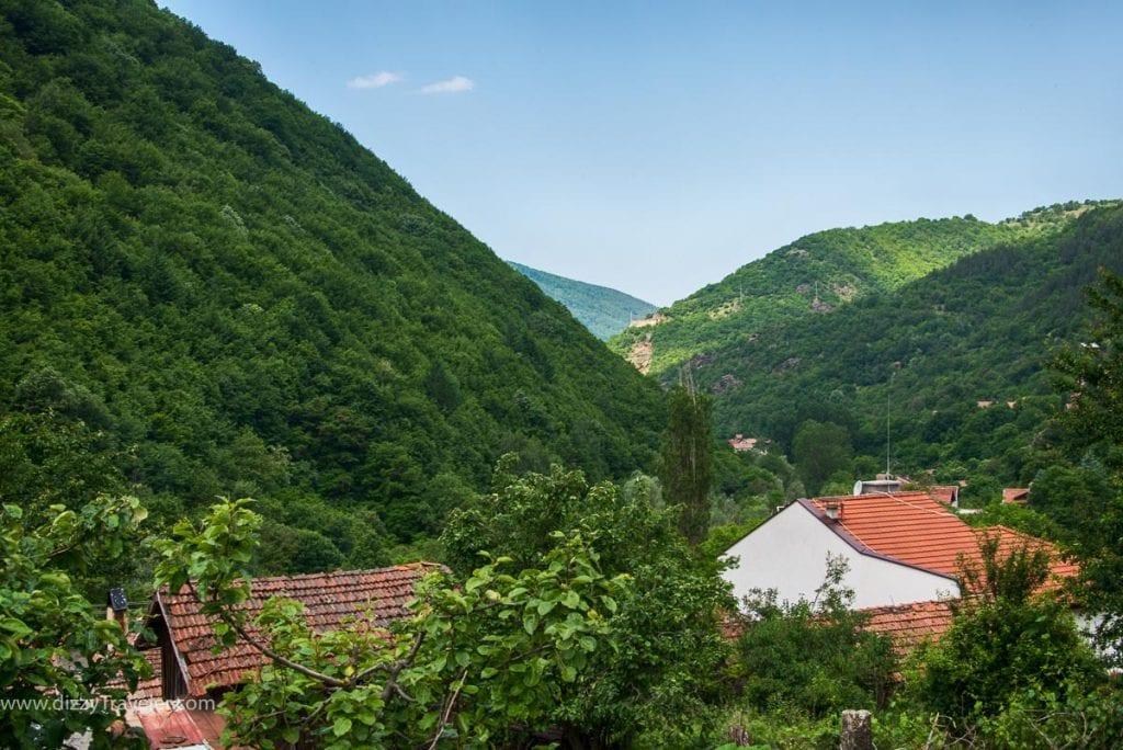 Road to Rila Monastery