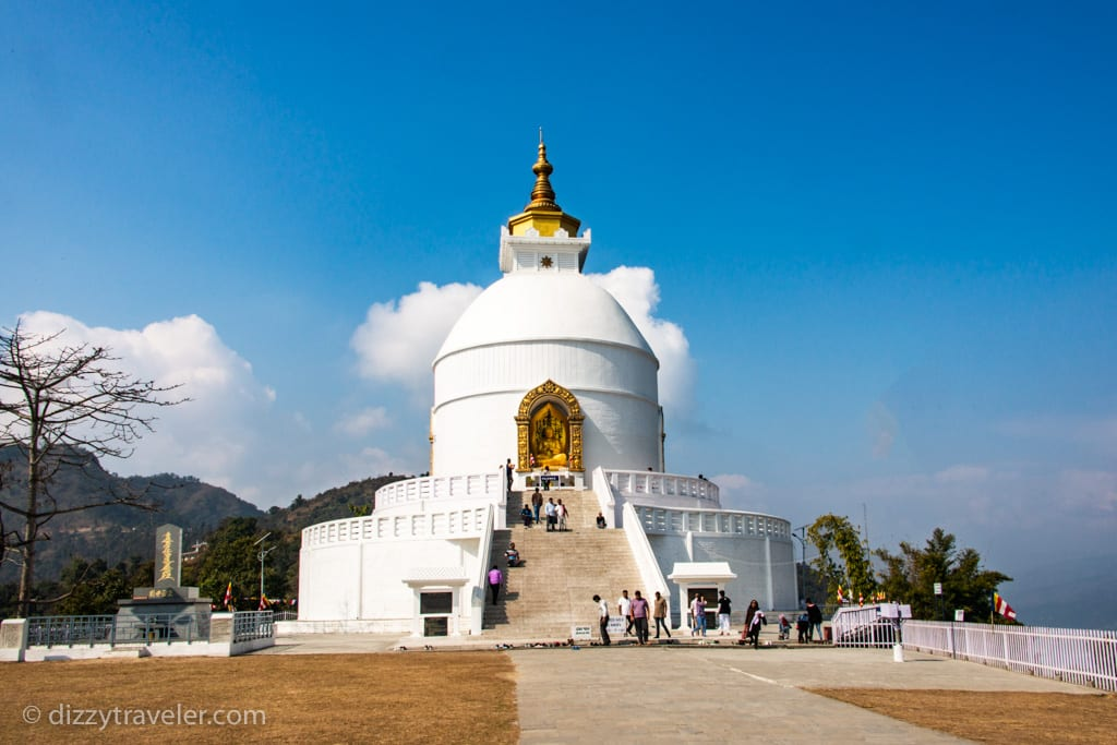 world peace pagoda, Nepal